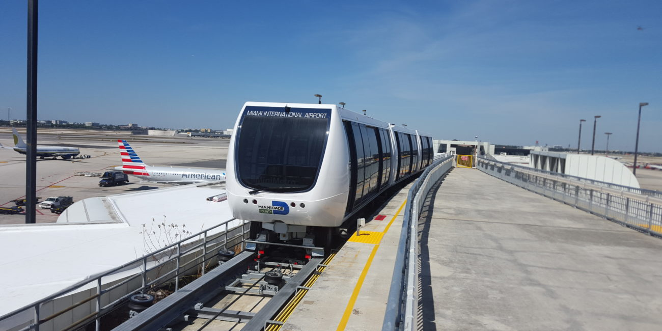 MIA E-terminal automated people mover