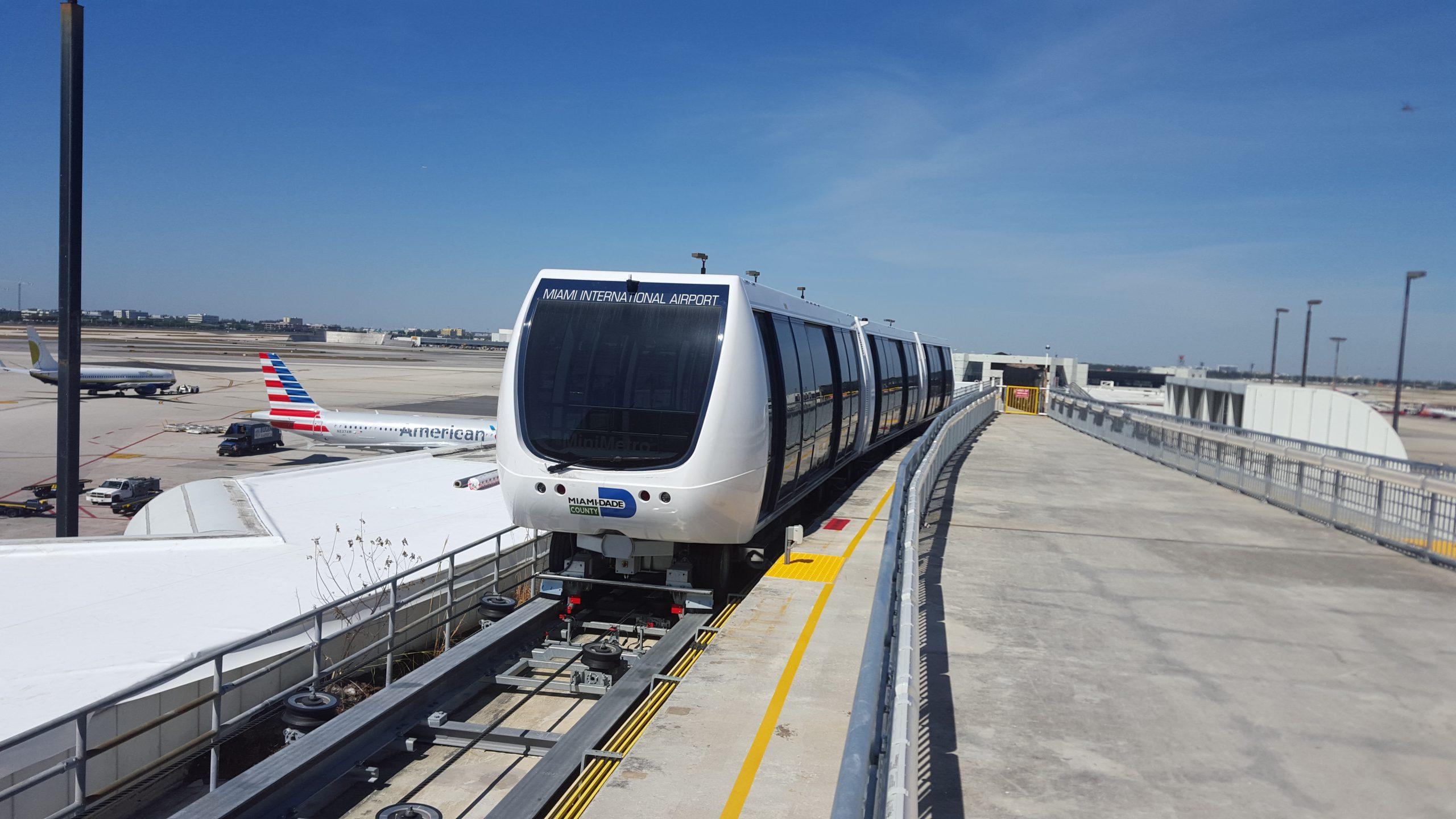 MIA E-terminal automated people mover
